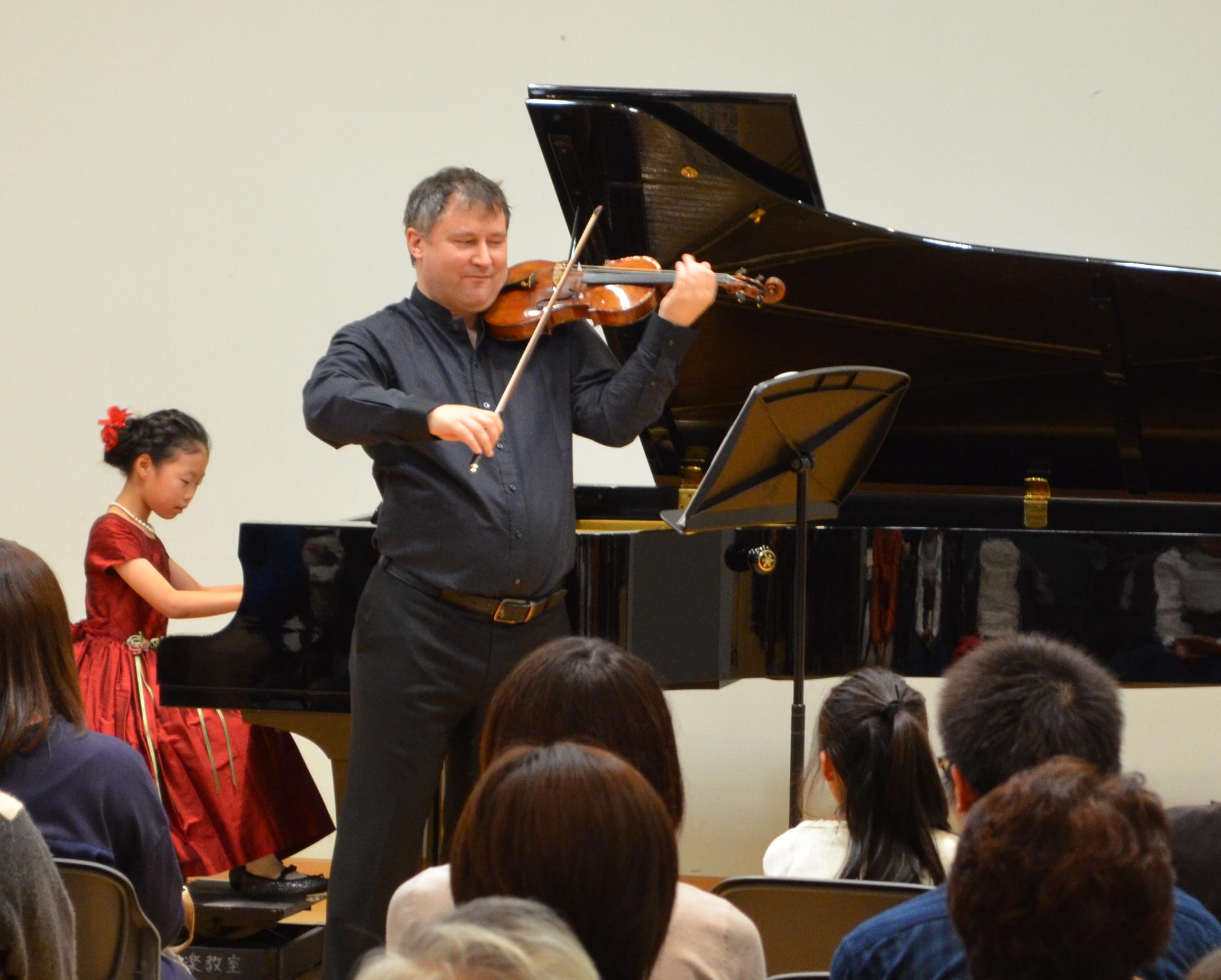 Wolfgang David ヴァイオリンコンサート
