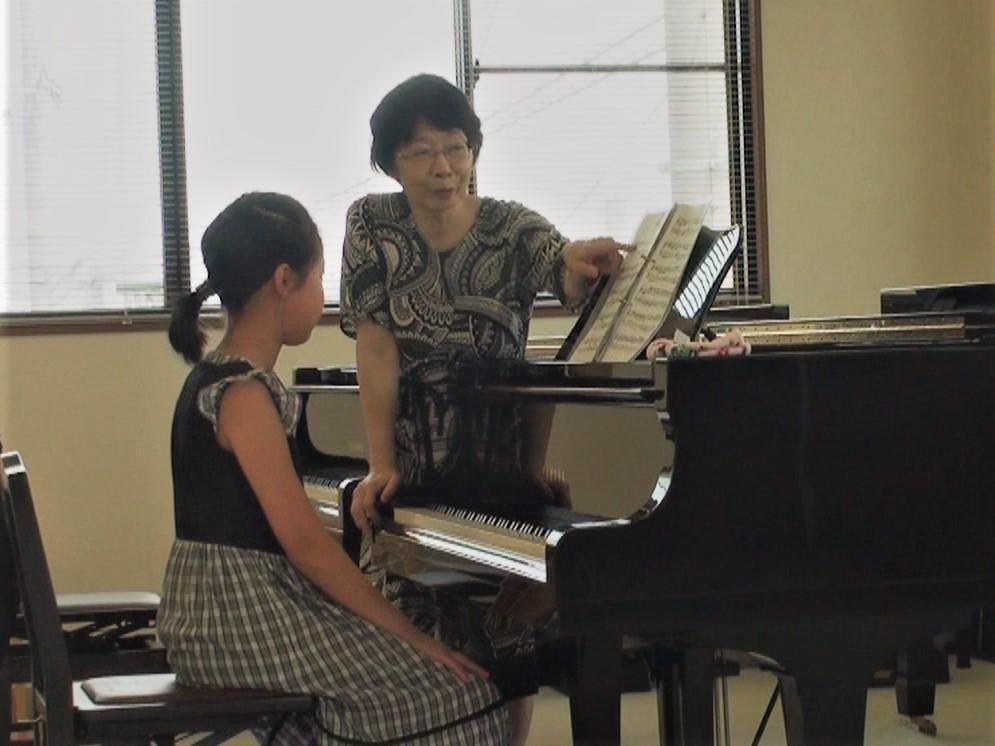 倉田佳代子ピアノ特別レッスン